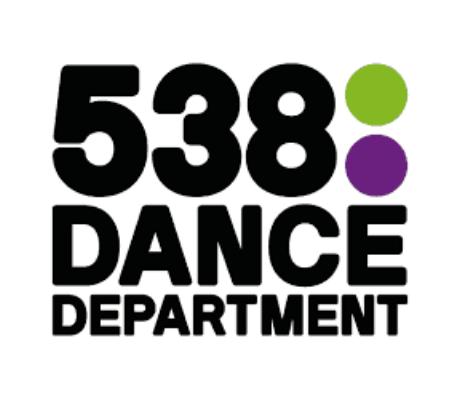538 Dance Department luisteren